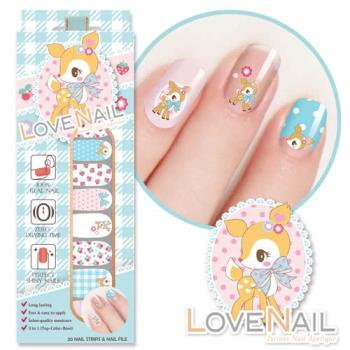 【LOVE NAIL】Hummingmint x LOVE NAIL限定版指甲油貼-幸福甜果實