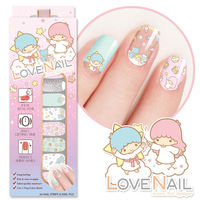 ~LOVE NAIL~LittleTwinStars x LOVE NAIL限定版指甲油貼