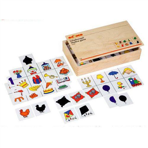 【華森葳兒童教玩具】益智邏輯系列-卡片分類遊戲-影子配對 K5-522864