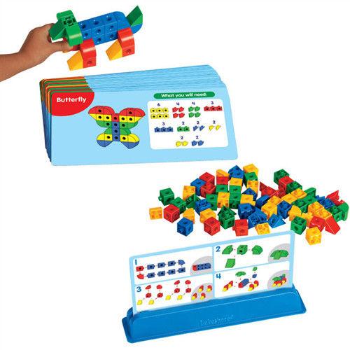 【華森葳兒童教玩具】益智邏輯系列-方塊幾何立體畫 N8-HH357