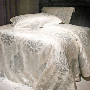法國CASA BELLE《皇室奢華》雙人緹花四件式被套床包組