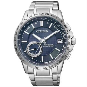 【CITIZEN】光動能GPS萬年曆自動對時腕錶(CC3001-51L / F150)