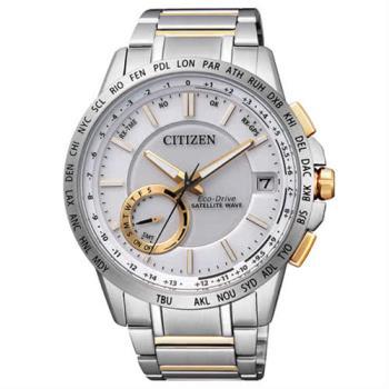【CITIZEN】光動能GPS萬年曆自動對時腕錶(CC3006-58A / F150)