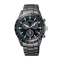 ~CITIZEN星辰~ 款 40周年限定光動能鋼帶腕錶 ^#45 黑 ^#40 BL549