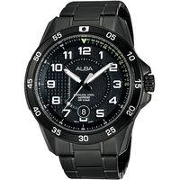 ALBA 競速方程式 腕錶 ^#45 IP黑 ^#47 45mm VJ42 ^#45 X0