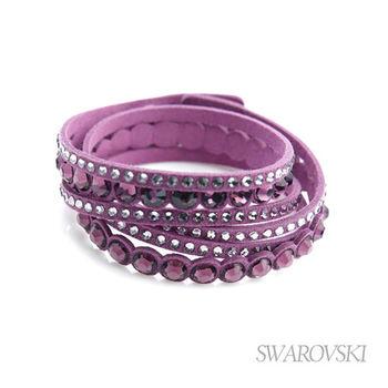 VIP回饋 -【SWAROVSKI】施華洛世奇 Slake Dot 手環 (紫紅)