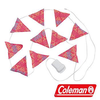 Coleman LED串燈 粉紅 CM-22289 營燈|露營|戶外