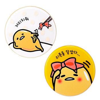 韓國 Holika Holika蛋黃哥柔潤無暇舒芙蕾1+1組合15g+15g氣墊粉餅