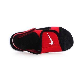 【NIKE】SUNRAY ADJUST 4-TD男女嬰孩涼鞋- 童鞋 紅黑