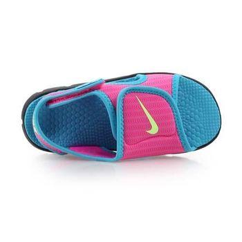 【NIKE】SUNRAY ADJUST 4 -TD女嬰孩涼鞋- 童鞋 兒童 粉水藍