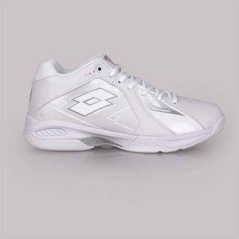 【LOTTO】男籃球鞋-高筒 訓練 白