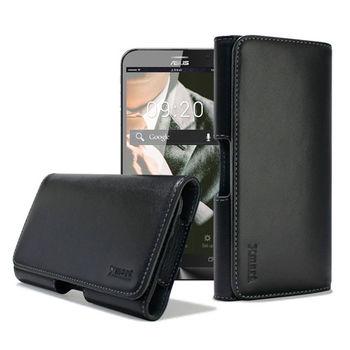 XM ASUS ZenFone MAX / ZenFone Go TV 型男羊皮橫式腰掛皮套