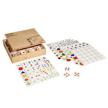 【華森葳兒童教玩具】益智邏輯系列-數數分類矩陣板 K5-522498