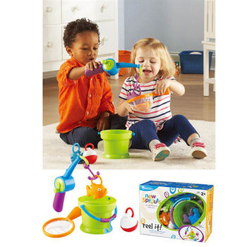 【華森葳兒童教玩具】益智邏輯系列-釣魚手眼協調學習組 N1-9246