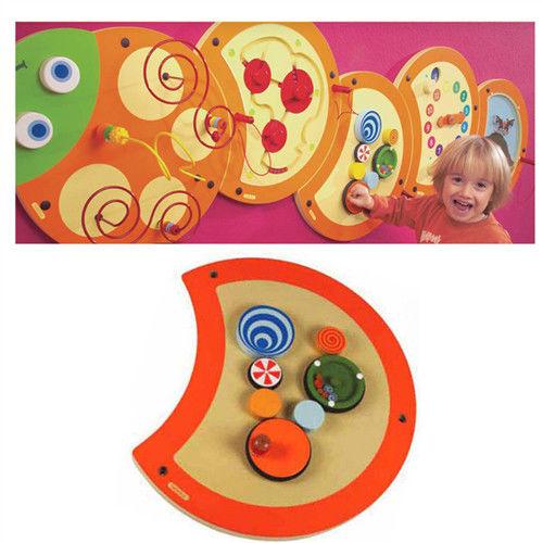 【華森葳兒童教玩具】益智邏輯系列-技能毛毛蟲-視覺訓練 K2-23633