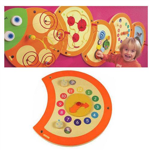 【華森葳兒童教玩具】益智邏輯系列-技能毛毛蟲-時間概念 K2-23634