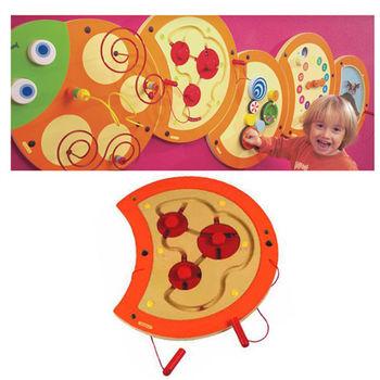 【華森葳兒童教玩具】益智邏輯系列-技能毛毛蟲-軌道訓練 K2-23631