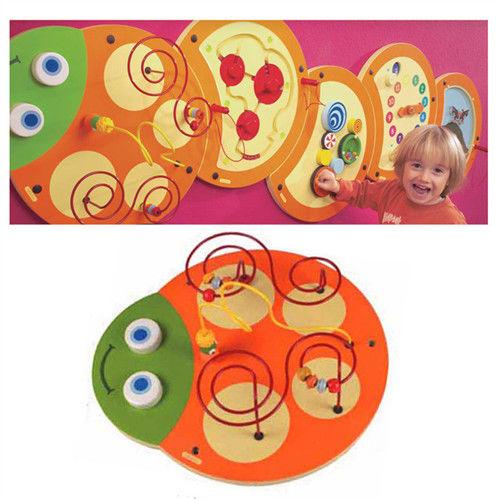【華森葳兒童教玩具】益智邏輯系列-技能毛毛蟲-曲線訓練 K2-23630