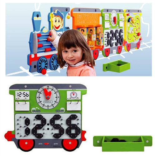 【華森葳兒童教玩具】益智邏輯系列-艾拉智慧列車-魔幻時鐘 K2-23642