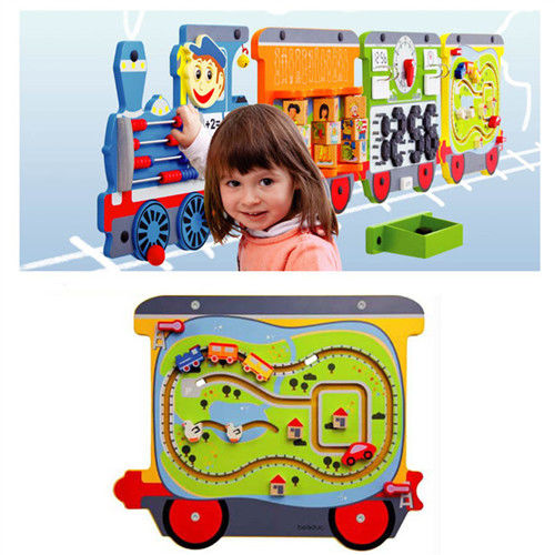 【華森葳兒童教玩具】益智邏輯系列-艾拉智慧列車-環城旅行 K2-23643