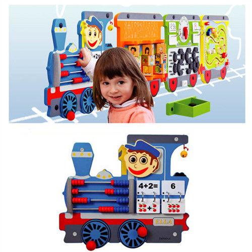 【華森葳兒童教玩具】益智邏輯系列-艾拉智慧列車-動力車頭 K2-23640