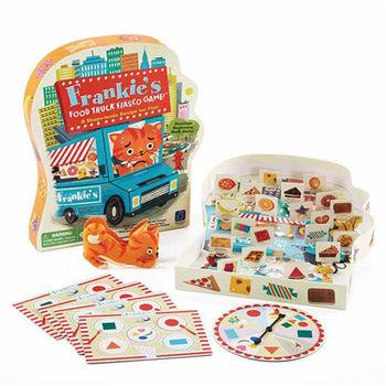 【華森葳兒童教玩具】益智邏輯系列-弗蘭奇的食品卡車遊戲 N1-EI-3414