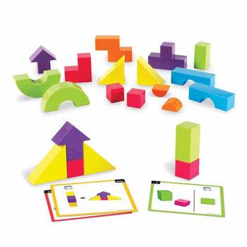 【華森葳兒童教玩具】益智邏輯系列-3D透視積木 N1-9284