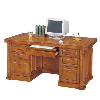 Bernice-小葉樟木5尺電腦辦公桌