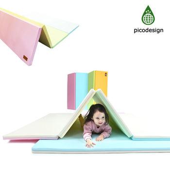 【BabyTiger虎兒寶】 Pico design  皮可設計無毒地墊 - 中 -馬卡龍 四色墊 遊戲爬行地墊