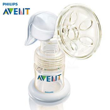 新安怡《Avent》PES手動擠乳器【奶水儲存瓶組】