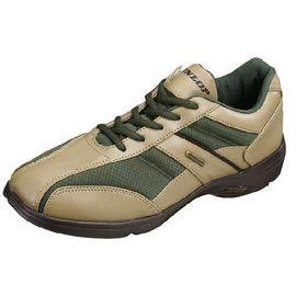 【海夫健康生活館】日本登錄普 (DUNLOP) 紳士輕便健走鞋(咖啡棕、草綠)