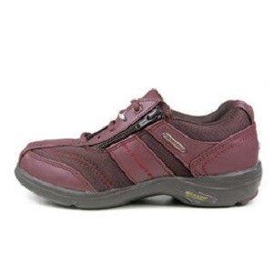 【海夫健康生活館】日本登錄普 (DUNLOP) 仕女輕便健走鞋(紅、金棕)