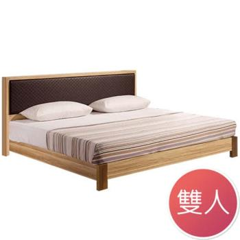 Bernice-瑪莎栓木5尺雙人床(不含床墊)