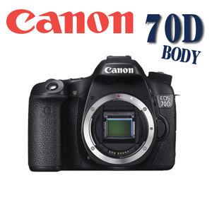 {送32G+電}Canon EOS 70D 單機身 BODY (平輸)