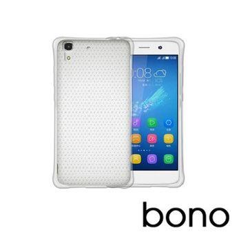 【bono】samsung s6特殊顆粒透氣散熱氣囊防摔TPU空壓透明殼加碼9h鋼化玻璃保貼組