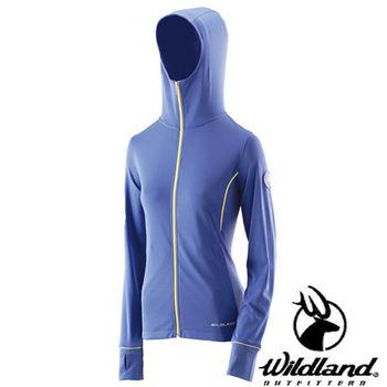 【荒野wildland】女涼感排汗抗UV外套 紫色 (0A21693-53)