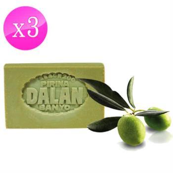 【土耳其dalan】純橄欖油手工皂 170gX 3/組