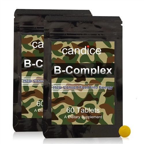 【Candice】康迪斯活力B群錠狀食品(2包共120顆)