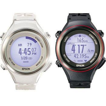 Epson Runsense SF-850 心率路跑教練智慧腕錶 (原廠公司貨) - 好禮2重贈 絨布套及隨機精美小禮