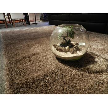 【天閣藝坊】歐茲堡質感精品大地毯 歐密長纖地毯 70x140cm(金)