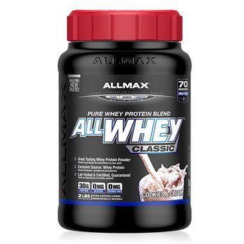 【加拿大ALLMAX】奧美仕乳清蛋白奶油餅乾口味飲品1瓶 (907公克)
