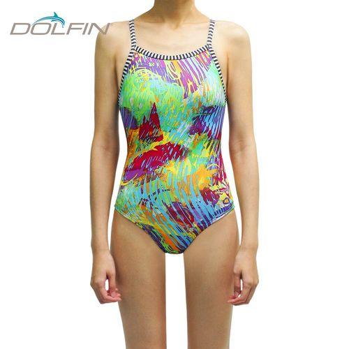 美國拓芬DOLFIN女性運動連身泳裝Fantasia