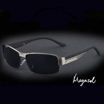 【MEGASOL】電影明星同款UV400偏光太陽眼鏡(MS8485-5色任選)