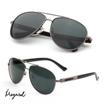 【MEGASOL】經典寶麗萊UV400偏光太陽眼鏡(MS2250)