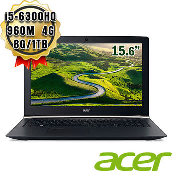 Acer 宏碁 VN7-592G-50WH 15.6吋 i5-6300HQ 獨顯GTX 960M 4G Win10 FHD高效能筆電