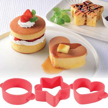 日本Arnest創意料理小物-蓬鬆煎餅模型