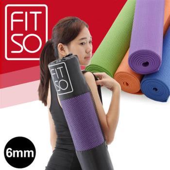 【FIT SO】PVC瑜珈墊6mm