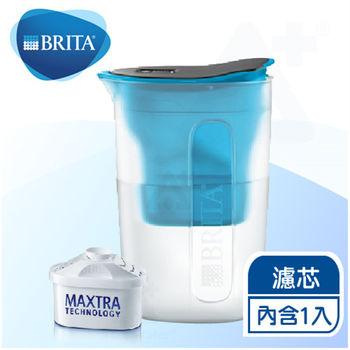 《德國BRITA》fill enjoy FUN酷樂壺 / BRITA濾水壺1.5L 【內含1入濾芯】(藍色)