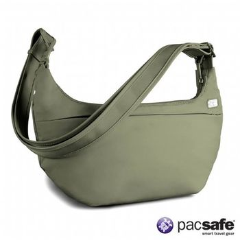 Pacsafe 4L SLINGSAFE250GII防盜側背包(女)(淺灰綠)