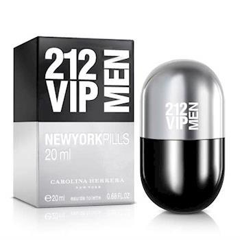 Carolina Herrera 212 VIP男性淡香水紐約小膠囊版(20ml)